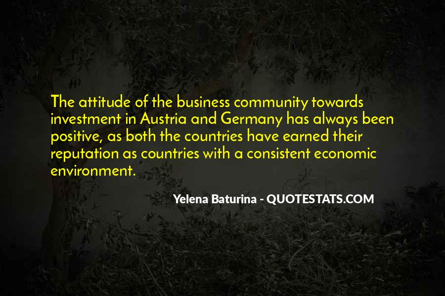Quotes About The Business Environment #709003
