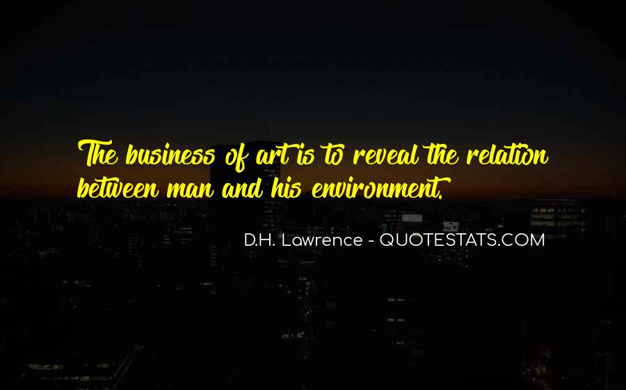 Quotes About The Business Environment #721063
