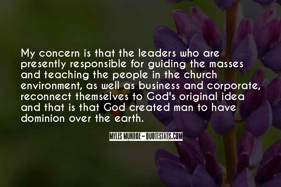 Quotes About The Business Environment #864882