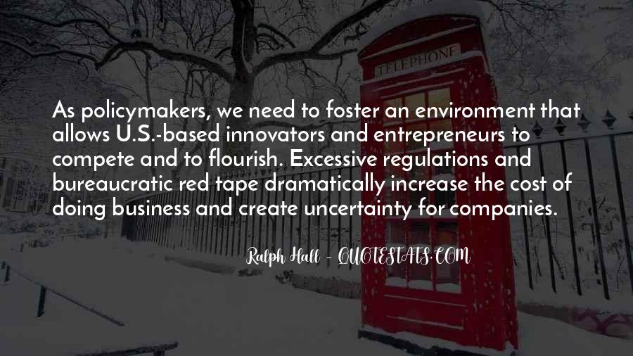 Quotes About The Business Environment #879912