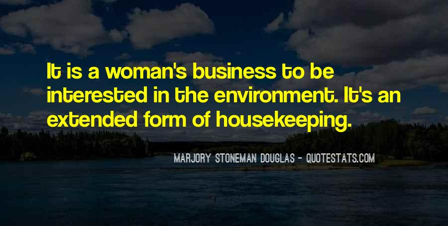 Quotes About The Business Environment #920057