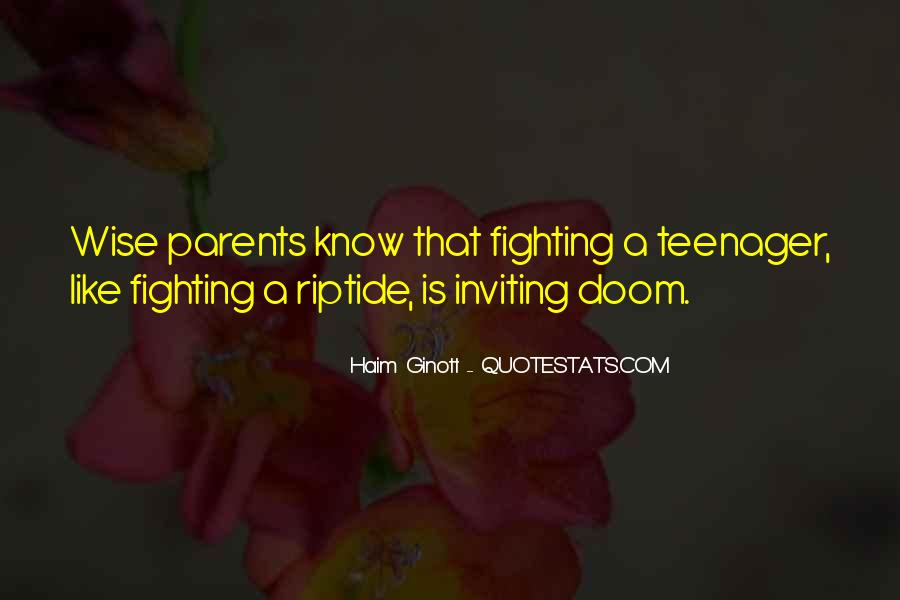 Quotes About Your Parents Fighting #917303