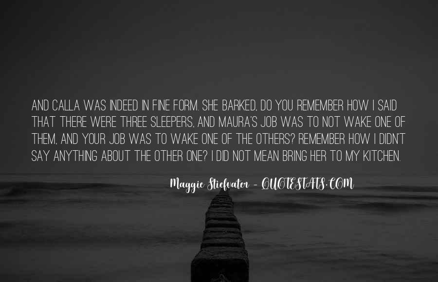 Maura's Quotes #1295288