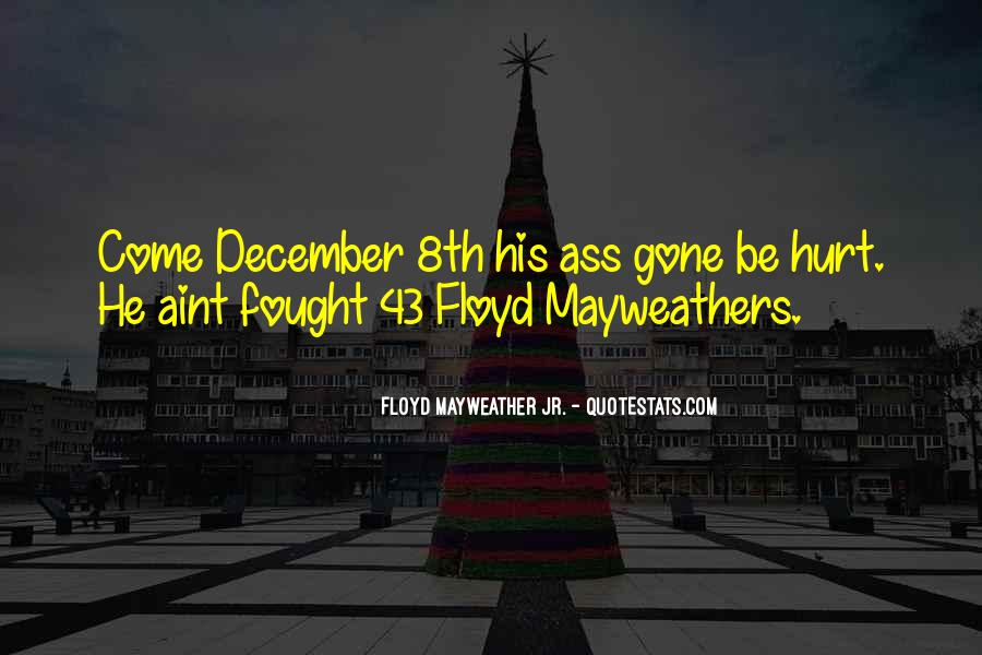 Mayweathers Quotes #1138509