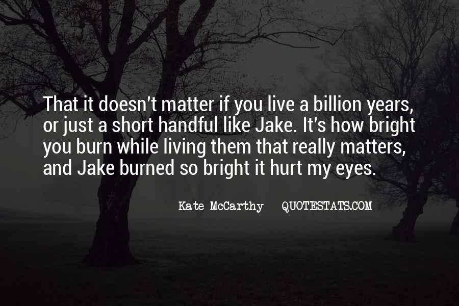 Mccarthy's Quotes #132860