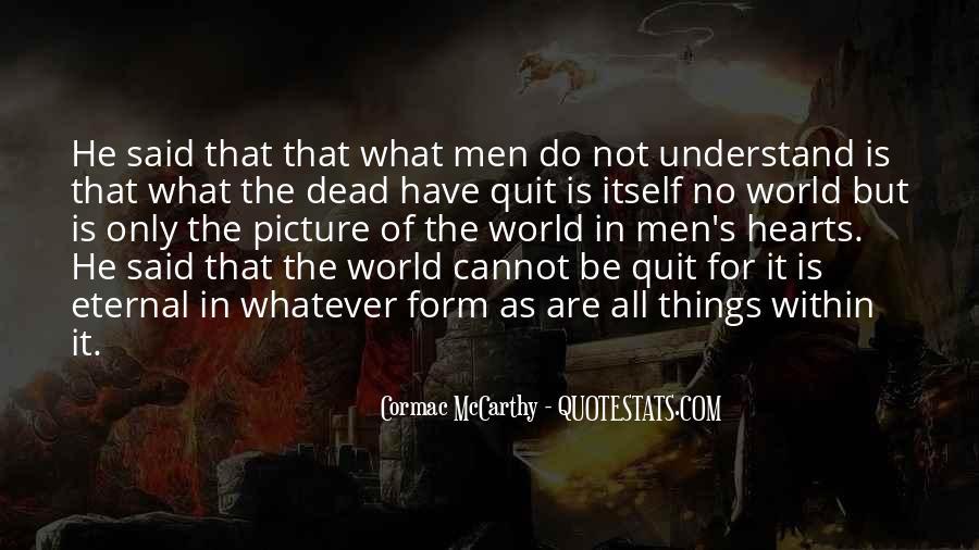 Mccarthy's Quotes #210750