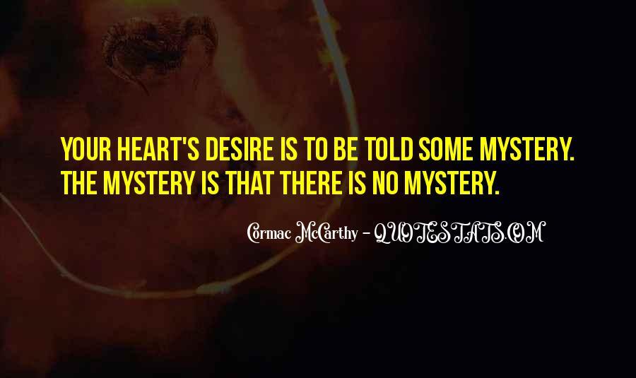 Mccarthy's Quotes #223279