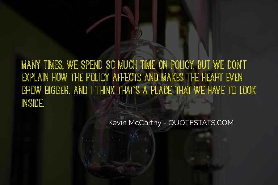 Mccarthy's Quotes #235345