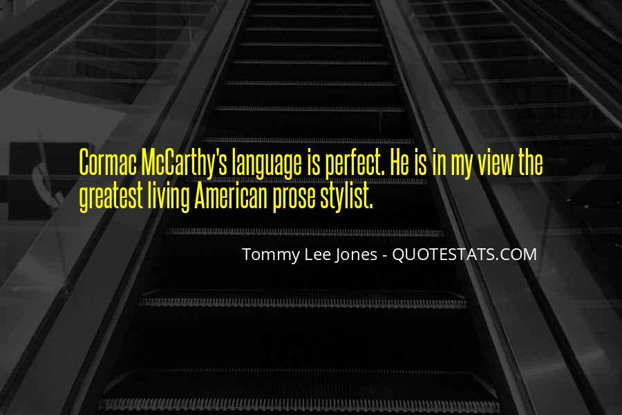 Mccarthy's Quotes #257905