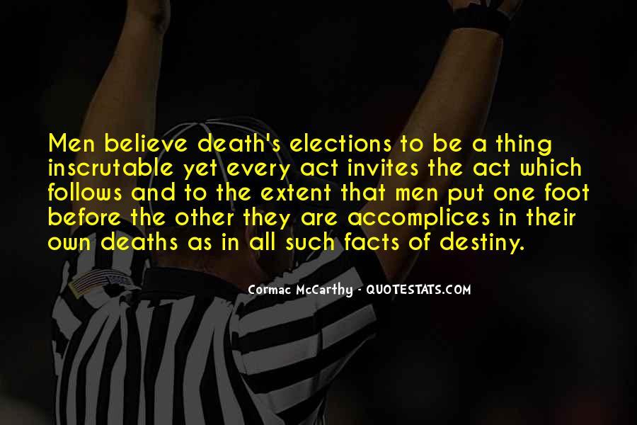 Mccarthy's Quotes #300337