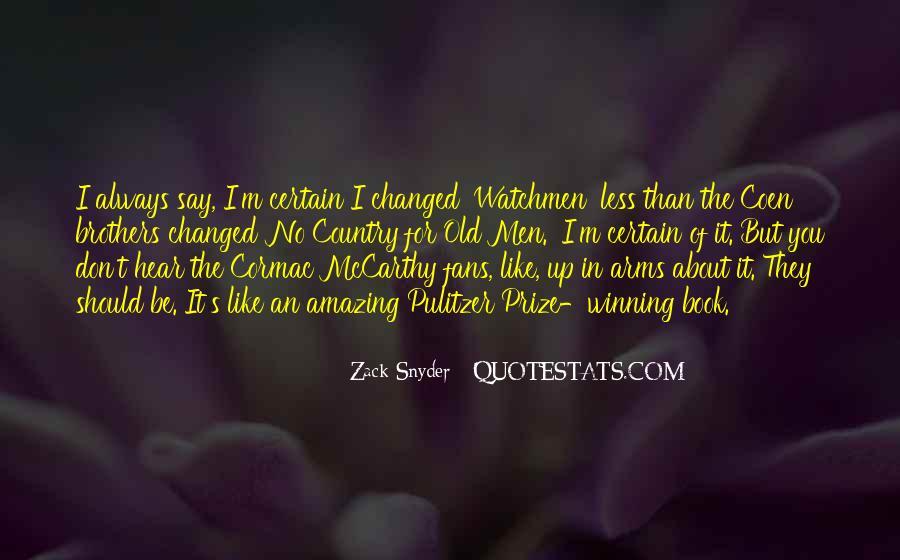 Mccarthy's Quotes #338913