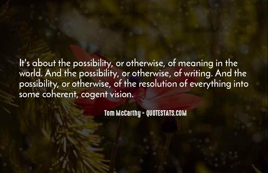 Mccarthy's Quotes #355970