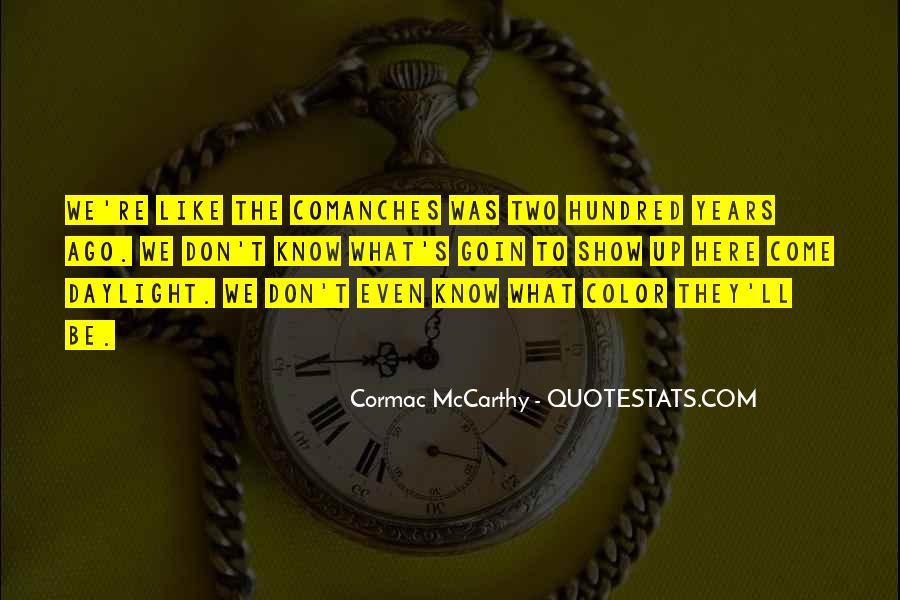 Mccarthy's Quotes #364453
