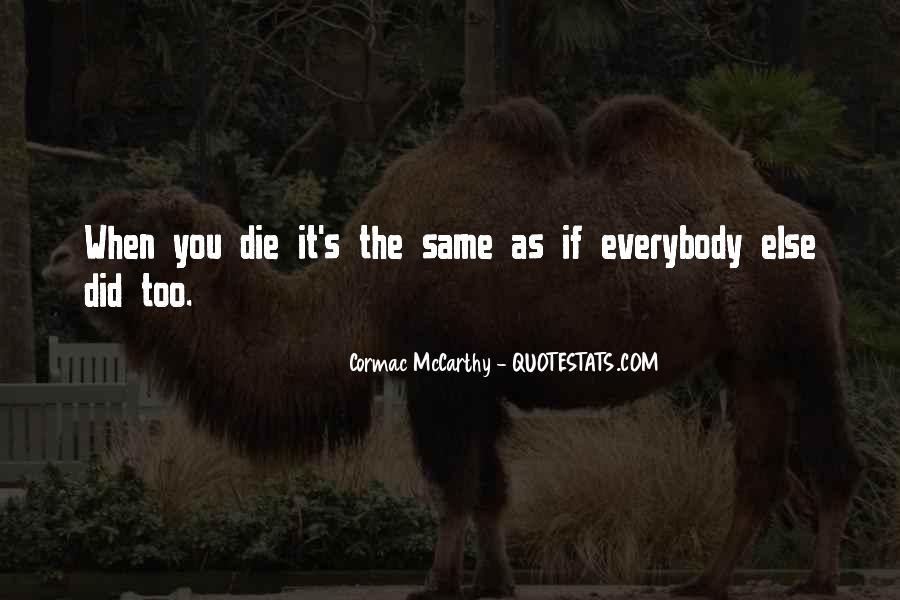 Mccarthy's Quotes #425496