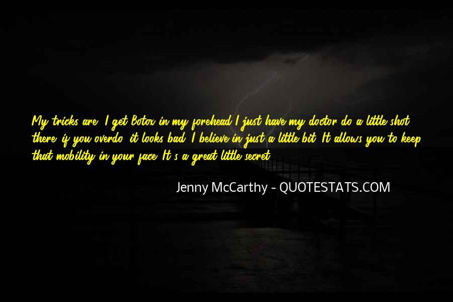 Mccarthy's Quotes #46097
