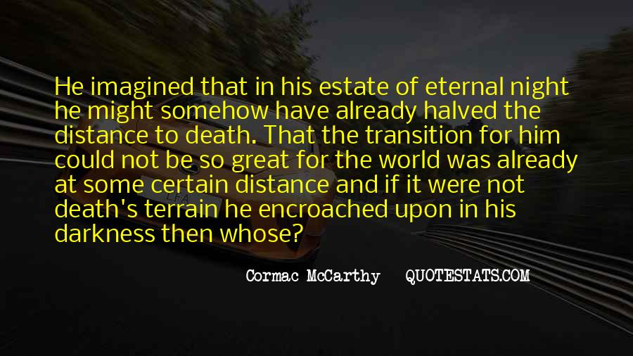 Mccarthy's Quotes #511009