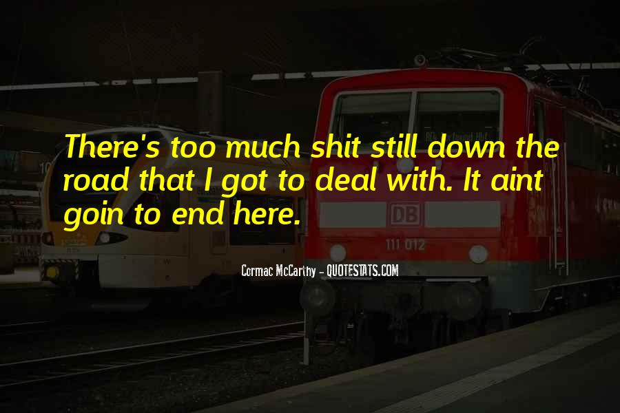 Mccarthy's Quotes #522011