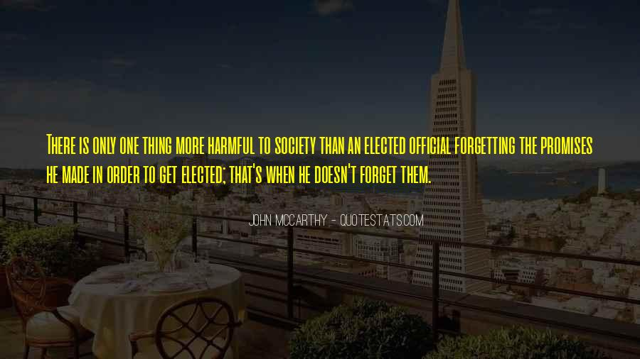 Mccarthy's Quotes #57423