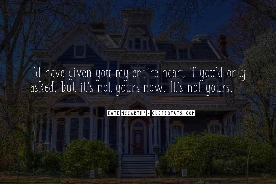 Mccarthy's Quotes #72558
