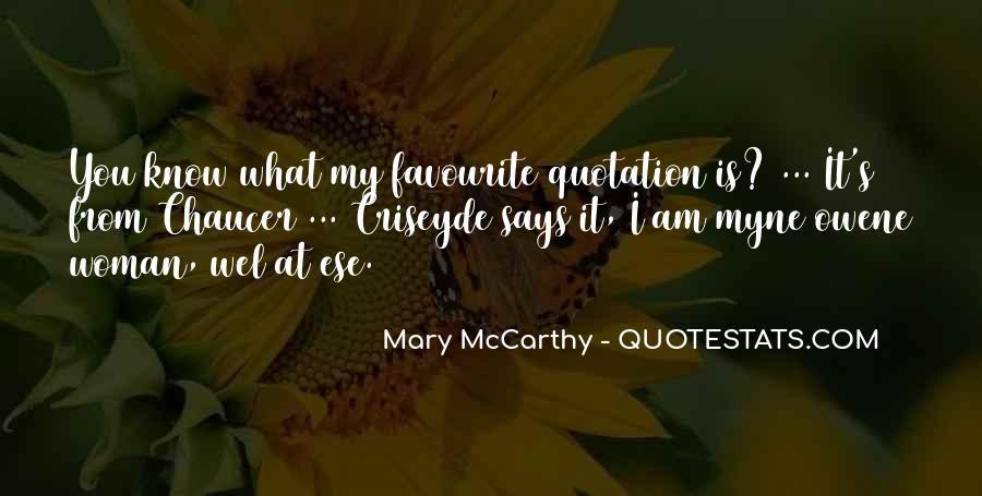 Mccarthy's Quotes #84786