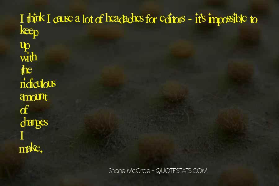 Mccrae's Quotes #1553887