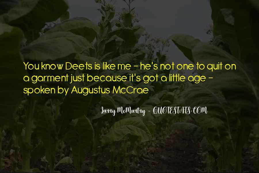 Mccrae's Quotes #485015