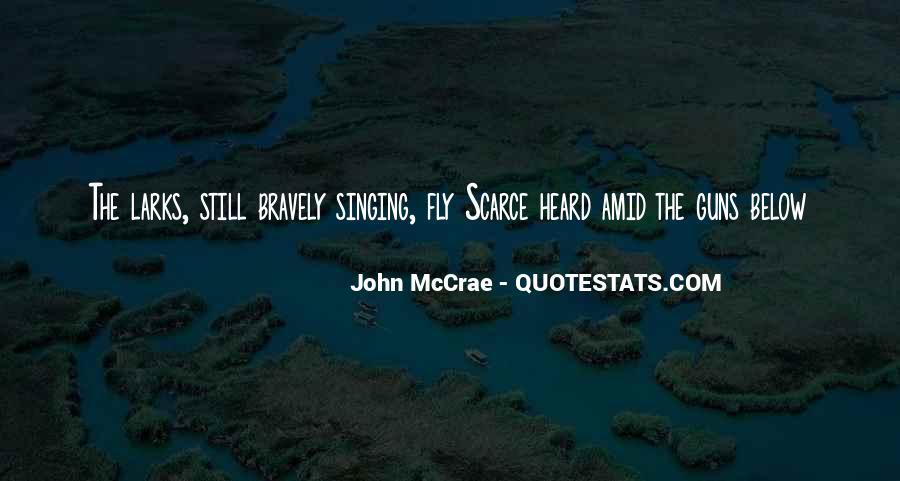 Mccrae's Quotes #556796