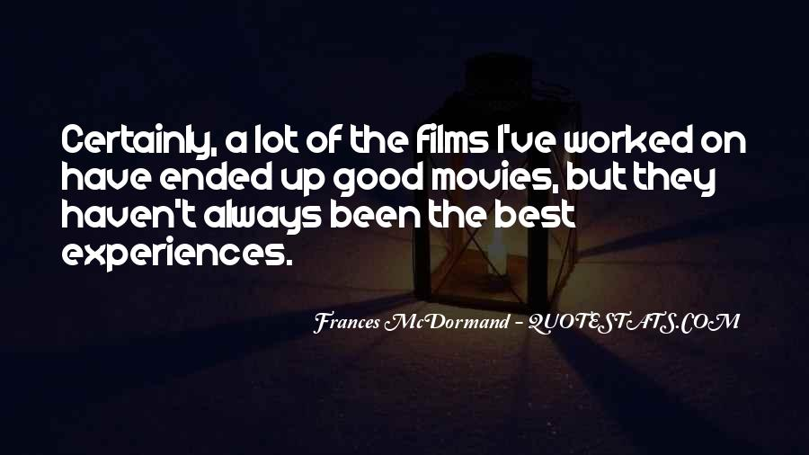 Mcdormand Quotes #218643