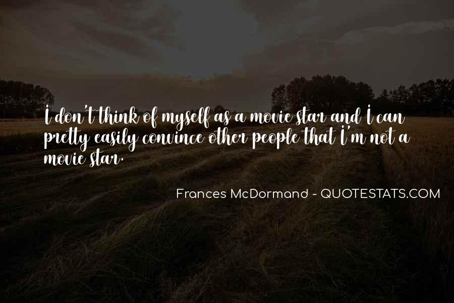 Mcdormand Quotes #637801