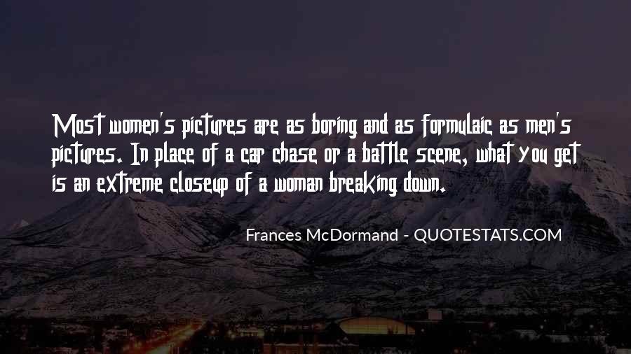 Mcdormand Quotes #689669