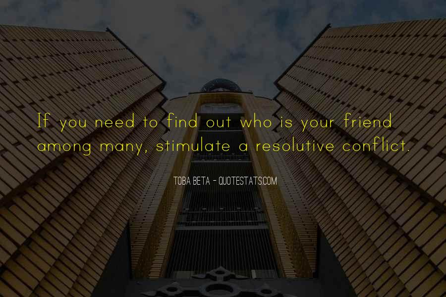 Quotes About Conflict With Others #11868