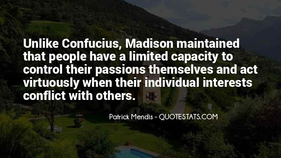 Quotes About Conflict With Others #511755