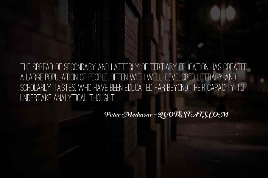 Medawar's Quotes #1567506
