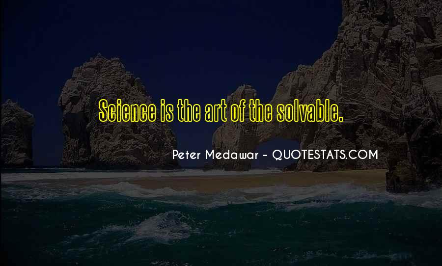 Medawar's Quotes #317477