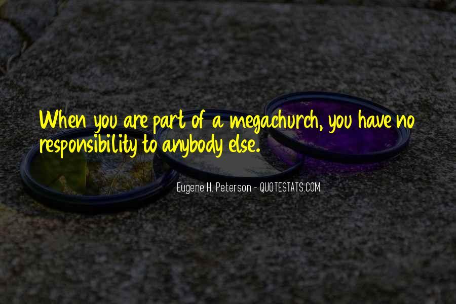 Megachurch Quotes #1461403
