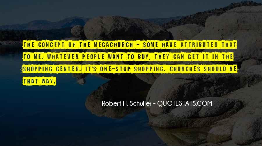 Megachurch Quotes #777207