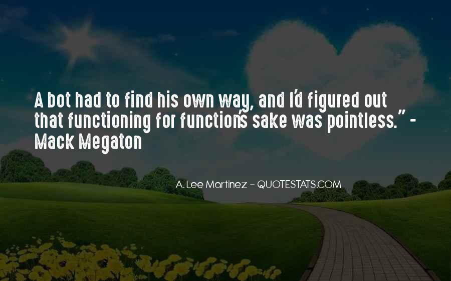 Megaton Quotes #107665