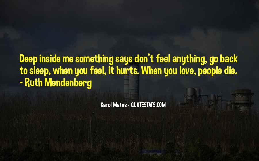 Mendenberg Quotes #1134468