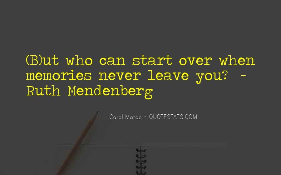 Mendenberg Quotes #849780
