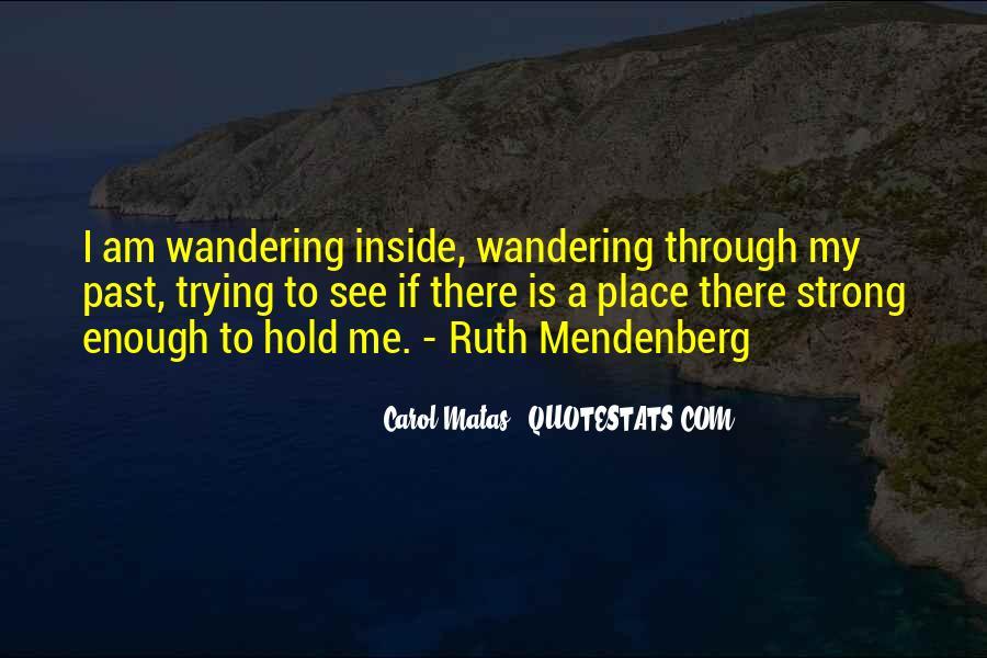 Mendenberg Quotes #898060