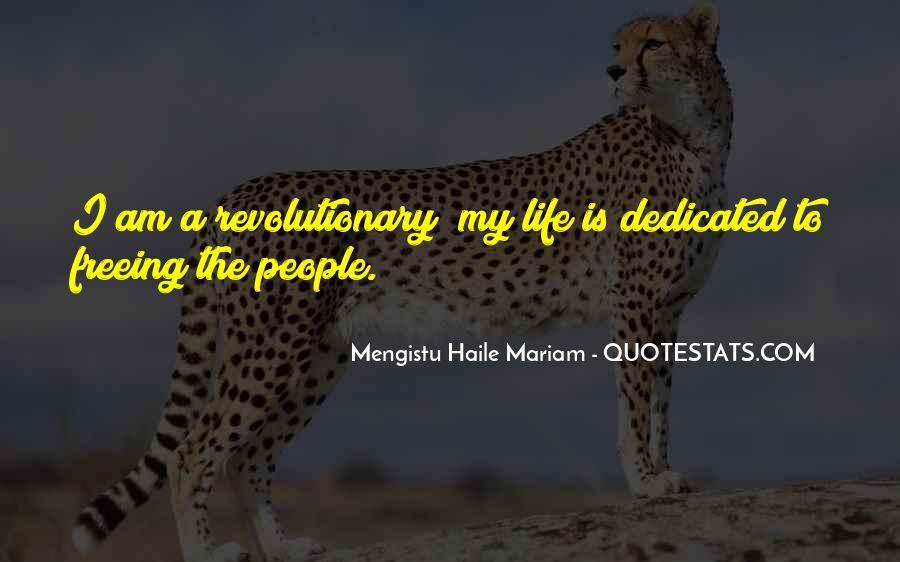 Mengistu Quotes #1851913