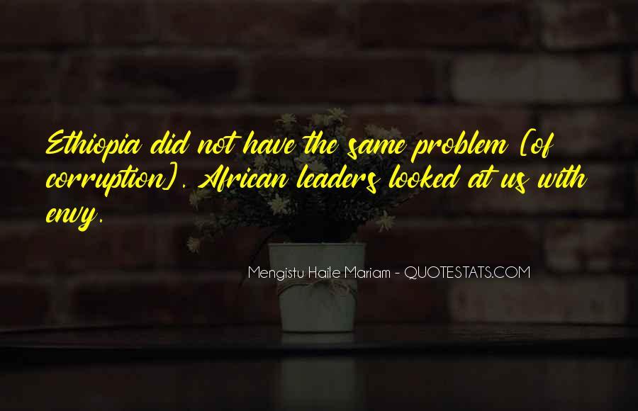 Mengistu Quotes #904427