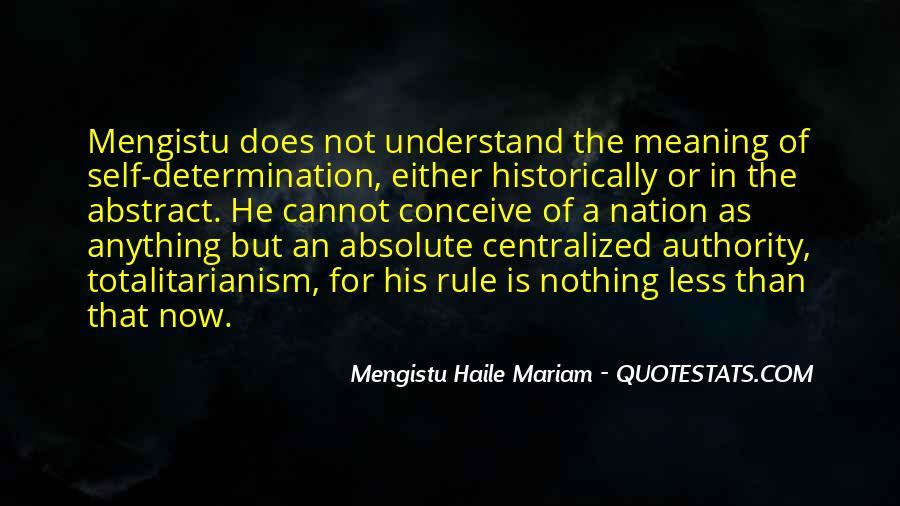 Mengistu Quotes #923279