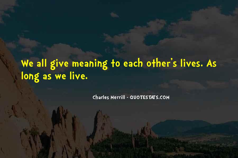 Merrill's Quotes #996488