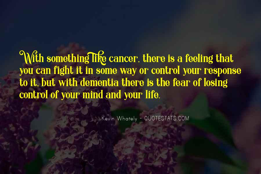 Quotes About Losing Someone To Dementia #385733