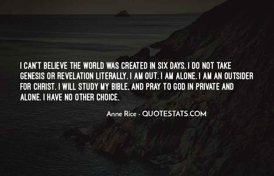 Quotes About The World And God #12125