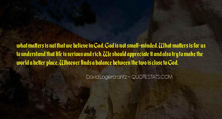 Quotes About The World And God #32220