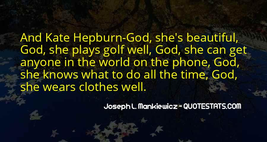Quotes About The World And God #50144