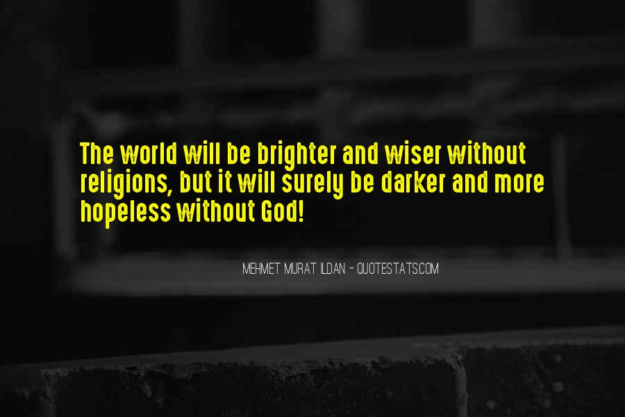 Quotes About The World And God #76104
