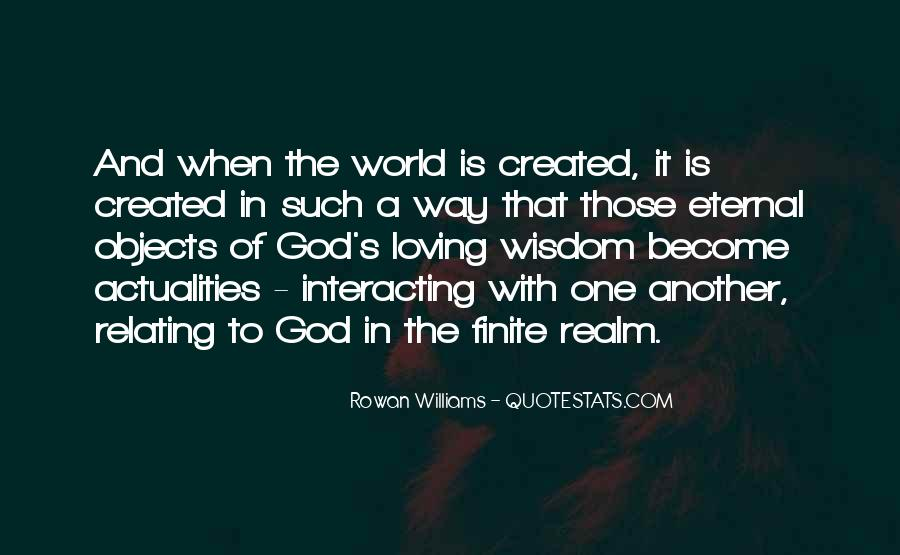 Quotes About The World And God #77153